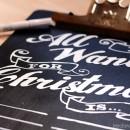 DIY Chalkboard Wishlist