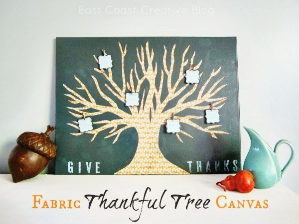 Thankful Tree Canvas by East Coast Creative