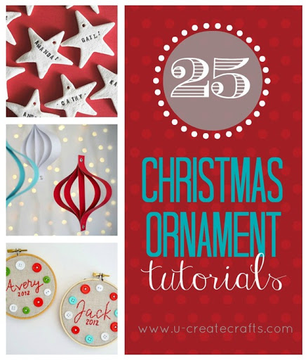 25 Christmas Ornament Tutorials