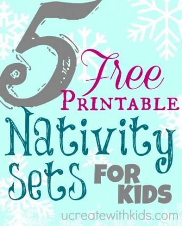 Free Printable Nativity Sets