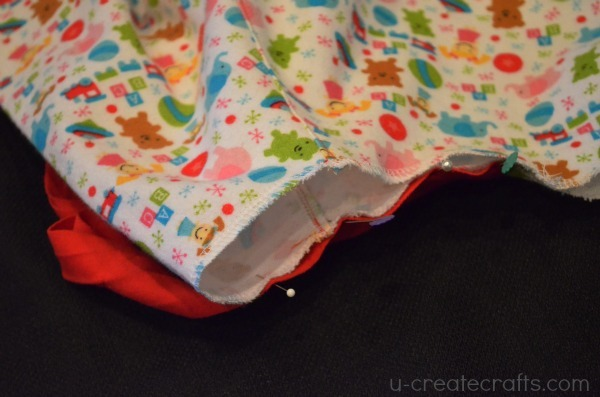 Christmas Nightgown Tutorial 14