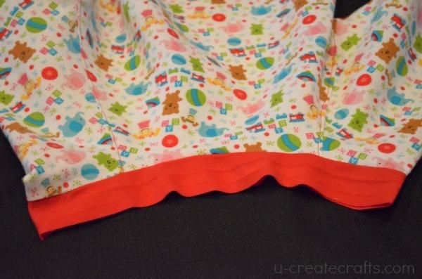 Christmas Nightgown Tutorial 16