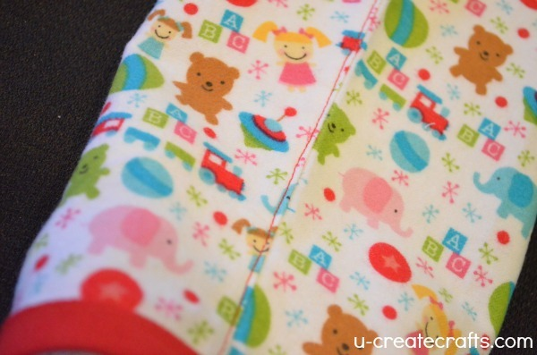 Christmas Nightgown Tutorial 7