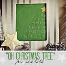 Free Stitchable: Oh Christmas Tree pattern by U Create