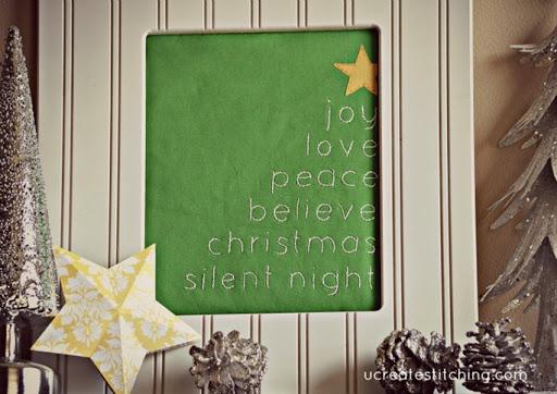 "Free Stichable: ""Oh Christmas Tree"" by U Create"