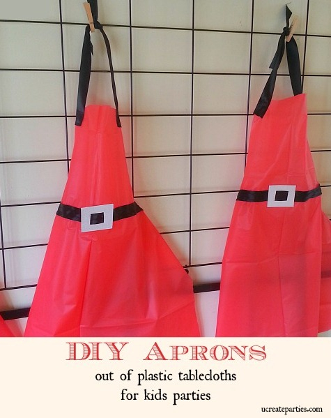 How to Make an Apron with a Plastic Tablecloth