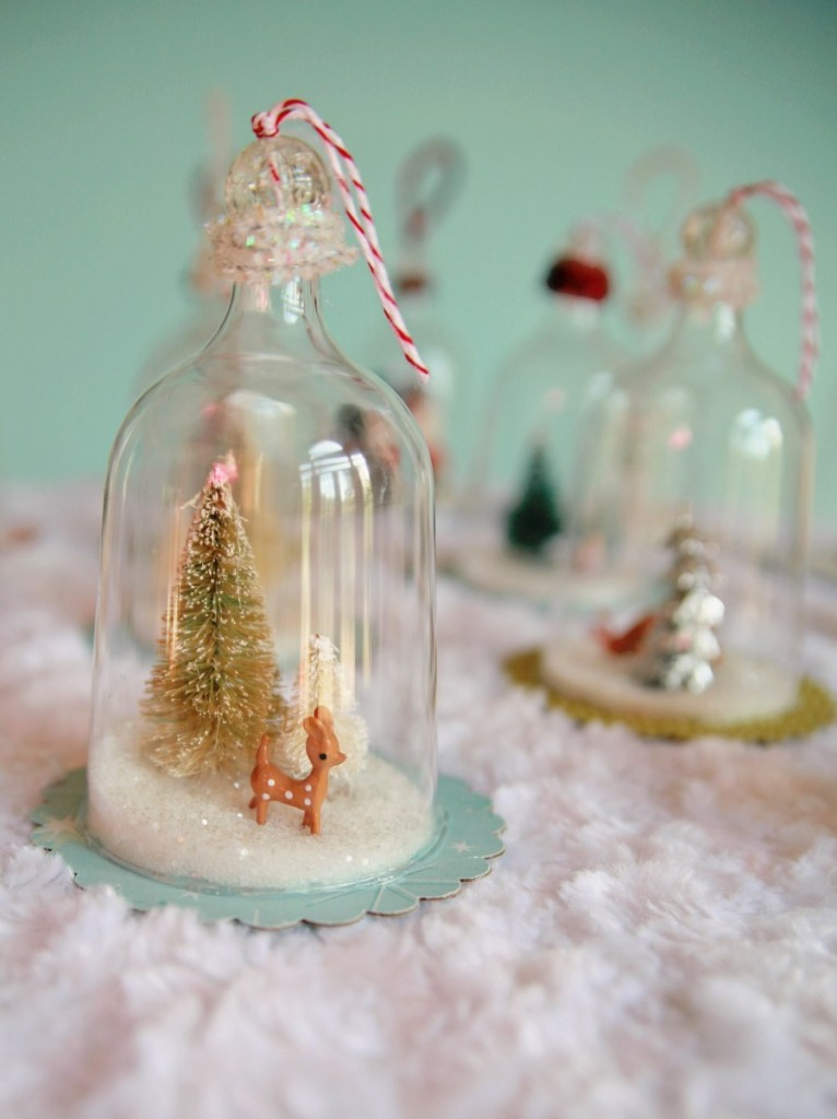 bell jar ornaments by my so called crafty life