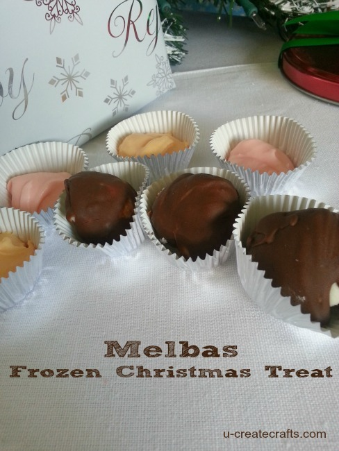 Melbas Frozen Christmas Treat Recipe