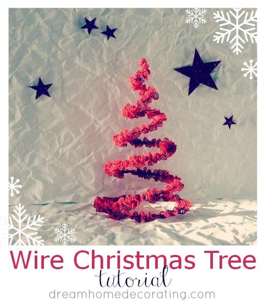 Wire Christmas Tree Tutorial U Create