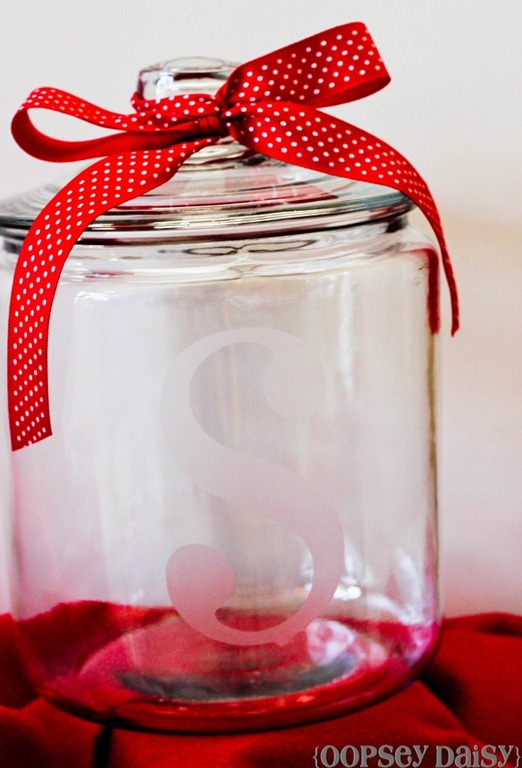 etched jar by oopsey daisy