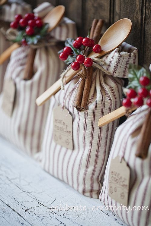 handcrafted cookie sacks at celebrate creativity