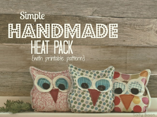 Handmade Owl Heat Packs (tutorial)