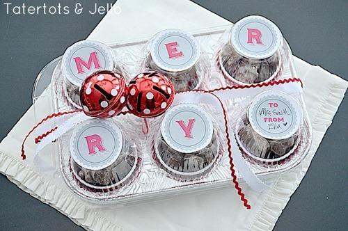 MERRY Christmas treat idea by Tatertots and Jello