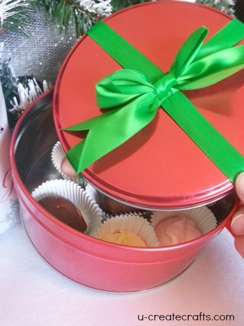 melbas frozen Christmas treat