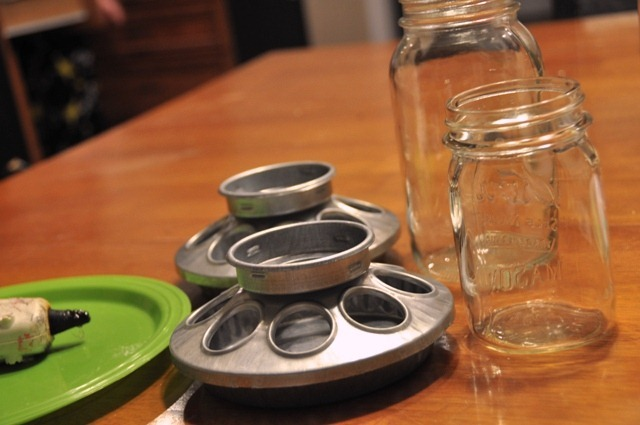 How to Make an old fashioned candy jar by The DIY Dish
