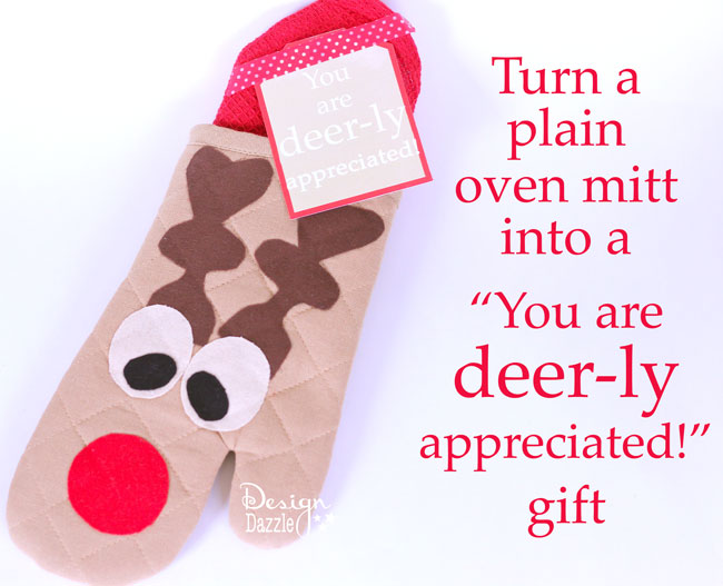 "You are ""Deer""-ly Appreciated Mitt by Design Dazzle"