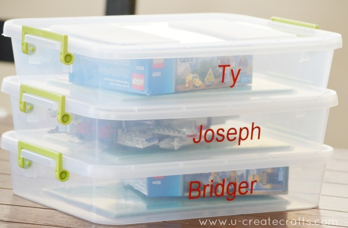 Lego Activity Box Tutorial by U Create