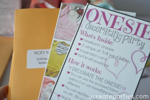 DIY Baby Shower by Mail 5