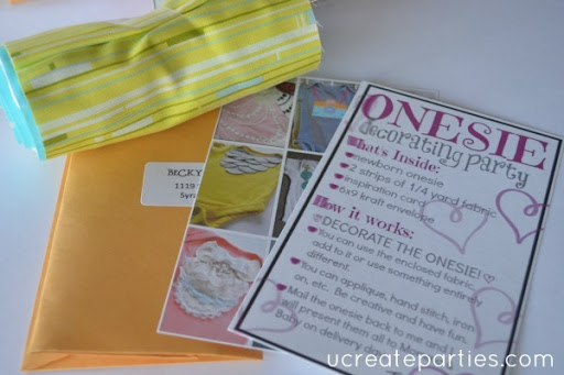 DIY Baby Shower by Mail 6