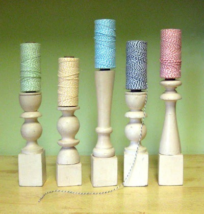 bakers twine holder tutorial at just something i made