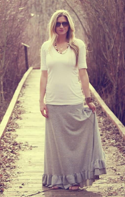 DIY Maxi Skirts