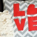 LOVE Pillow Tutorial by U Create
