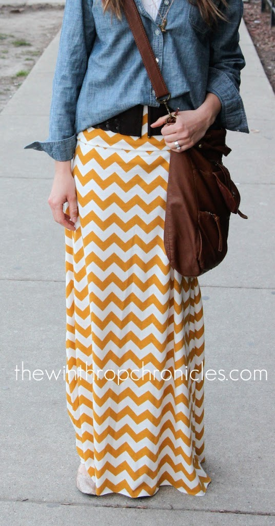 Maxi Skirt Tutorial - and tons of other free patterns!