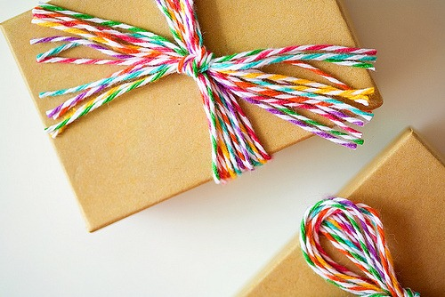 Rainbow Bakers Twine Packaging