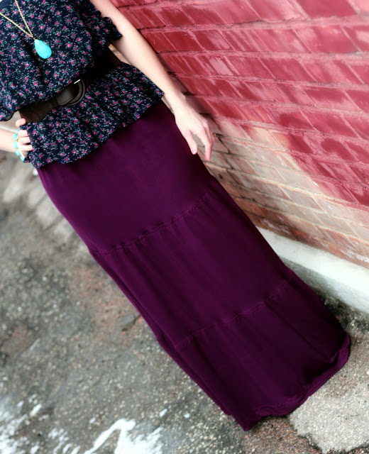 Tiered Maxi Skirt Tutorial and many other free patterns!