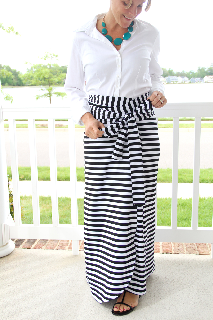 Wrap Maxi Skirt Tutorial