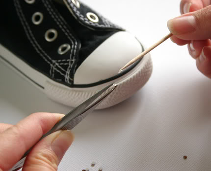 DIY Blinged Converse Shoes - U Create 2006e5d11