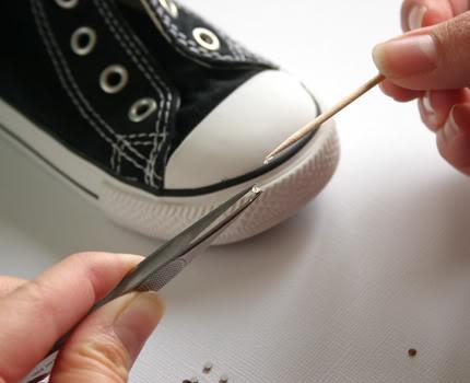 DIY Blinged Converse Shoes - U Create e7816d3a1