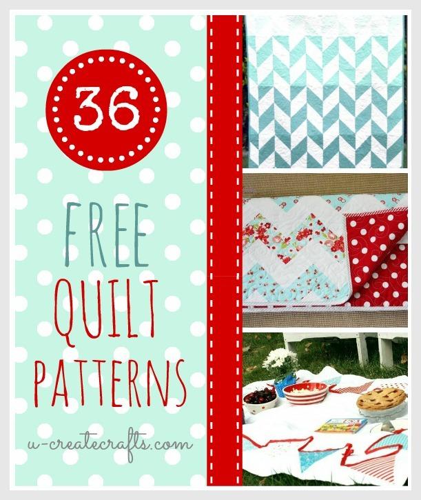 36 Free Quilt Patterns