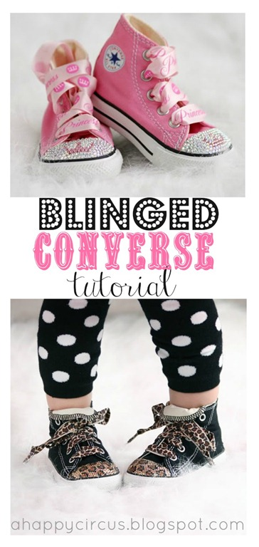2f507191e39a Blinged Converse Tutorial by A Happy Circus