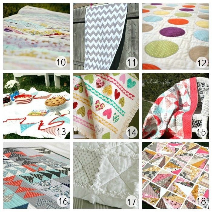 Quilt Tutorial Roundup