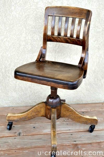 Refinish Chair Before