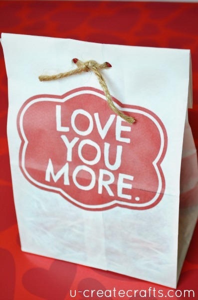 Valentine Gift Bag Tutorial 13