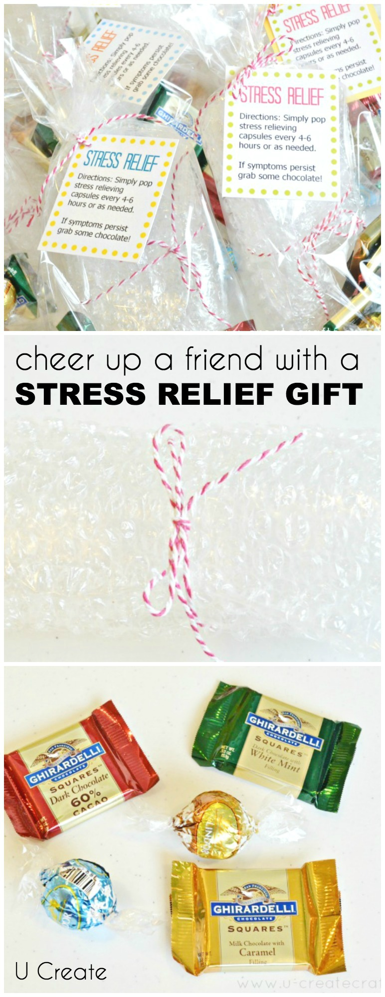 Cheer up a friends with a small Stress Relief Gift!