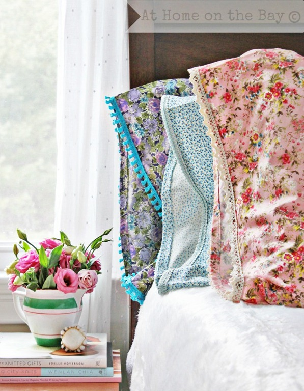 vintage pillowcase tutorial