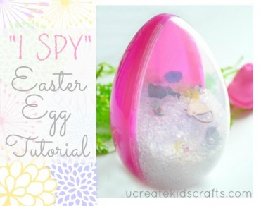 I Spy Easter Egg Tutorial by U Create