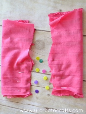 American Doll Ruffle Pants Tutorial 4