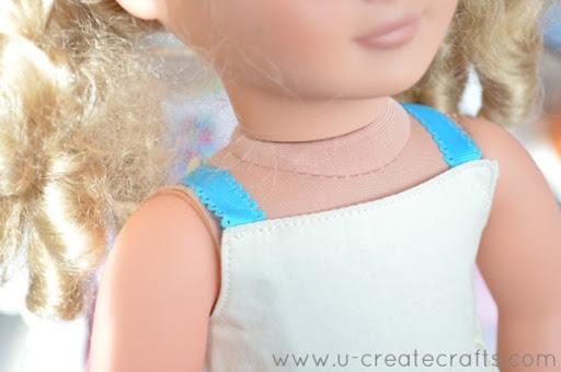 American Girl Dress Tutorial 14