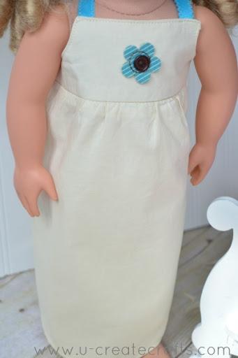 American Girl Dress Tutorial 18