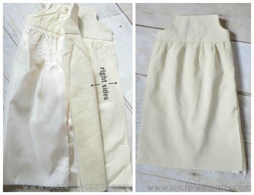 American Girl Dress Tutorial 9
