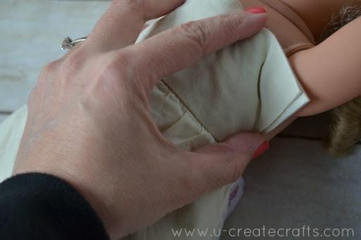 American Girl Dress tutorial 2
