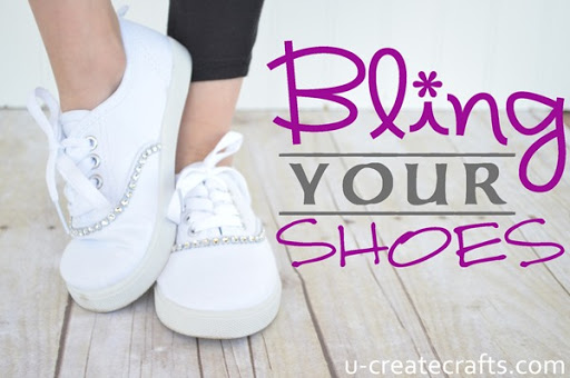 Bling Your Shoes Tutorial