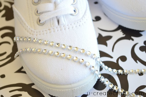 Bling your Shoes Tutorial 3