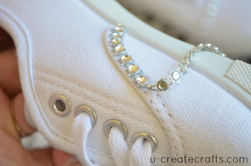 Bling your Shoes Tutorial 4