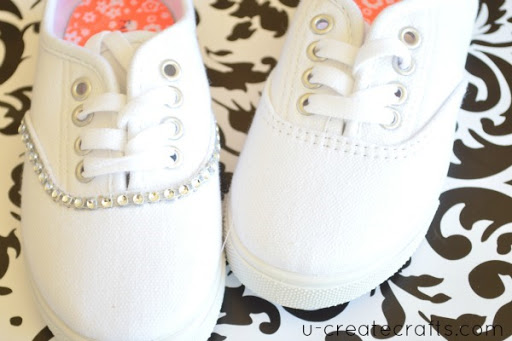 Bling your Shoes Tutorial 5