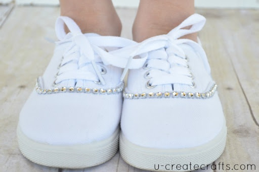 Bling your Shoes Tutorial 7
